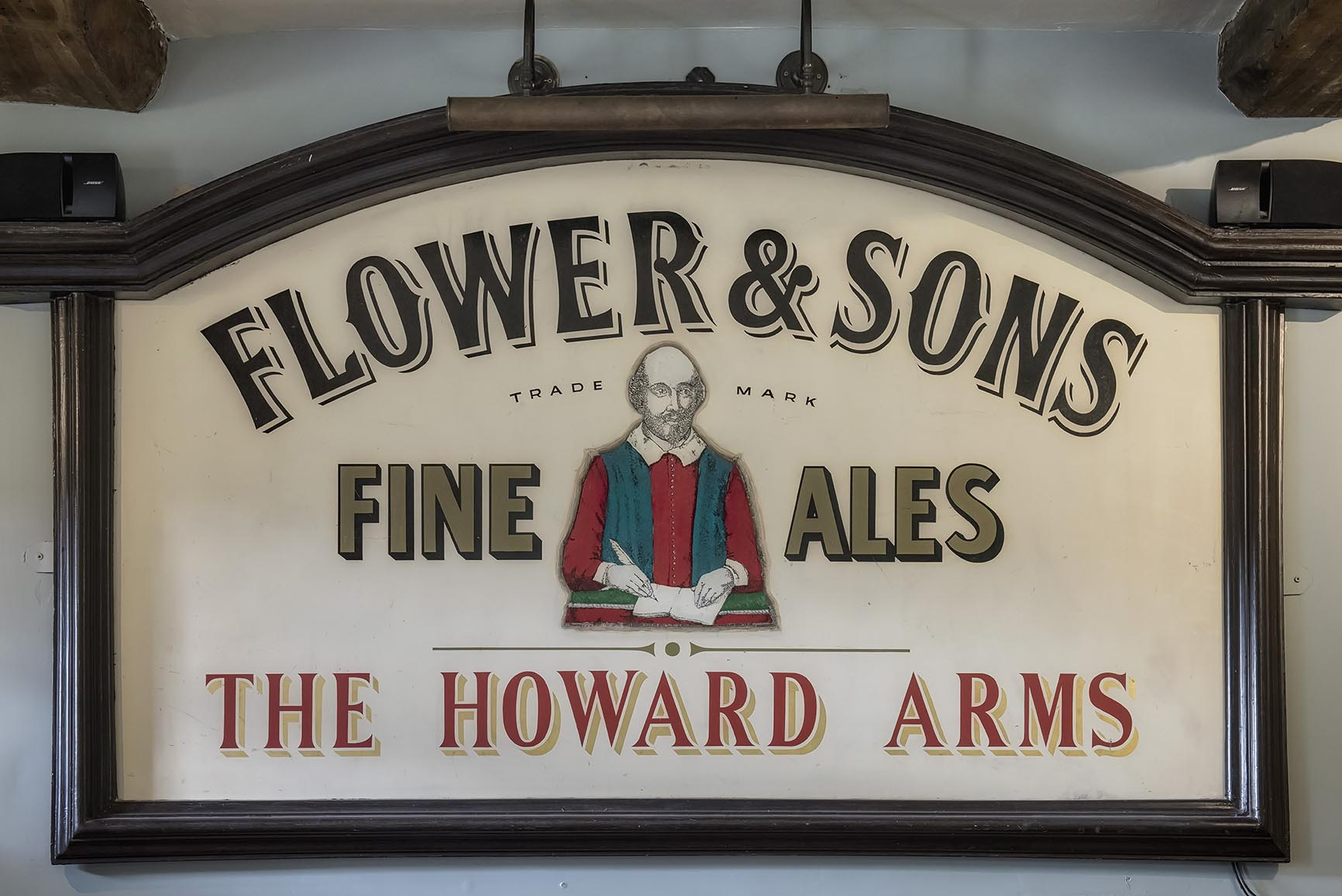 Howard Arms Pub Sign